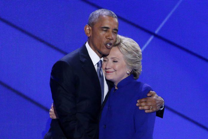 Барак Обама и Хилари Клинтън