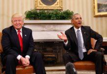 Барак Обама и Доналд Тръмп