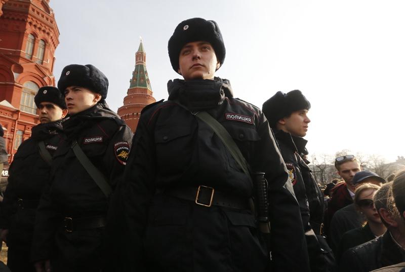 Русия, полиция