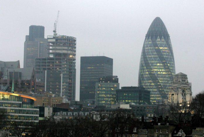 Лондон-сити японски фирми