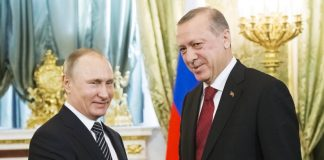 Владимир Путин, Реджеп Ердоган