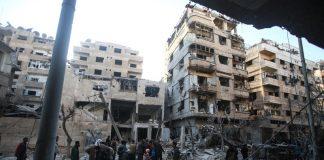 Сирия, Дамаск, джихадисти