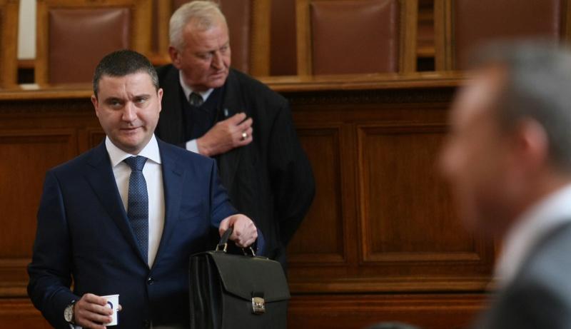 Владислав Горанов, бюджетна рамка