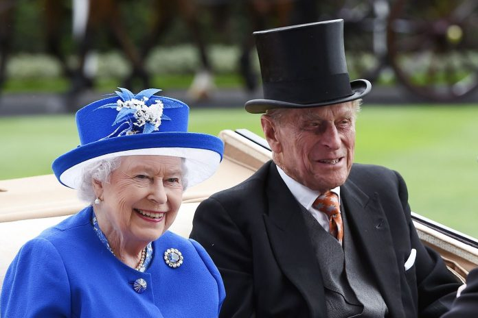 кралица Елизабет, принц Филип