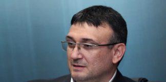 на снимката: Министърът на вътрешните работи Младен Маринов