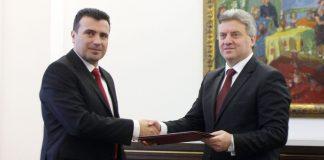 Георге Иванов, Зоран Заев