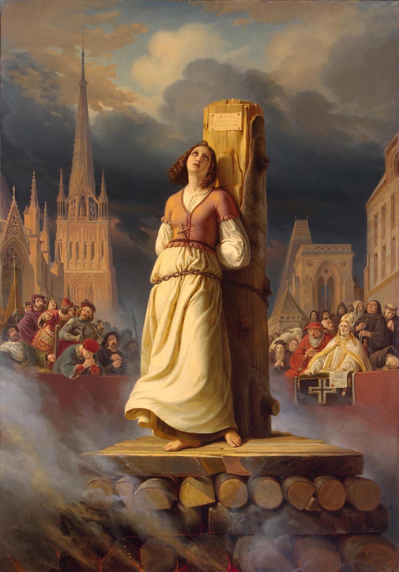 Жана д'Арк: Историята на една светица, осъдена на смърт - Дебати