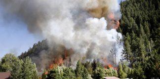 пожар в Аризона