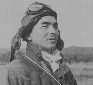на снимката: Хироши Нишазава, един от най-добрите пилоти