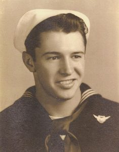 на снимката: Калвин Греъм, най-младият участник във войната