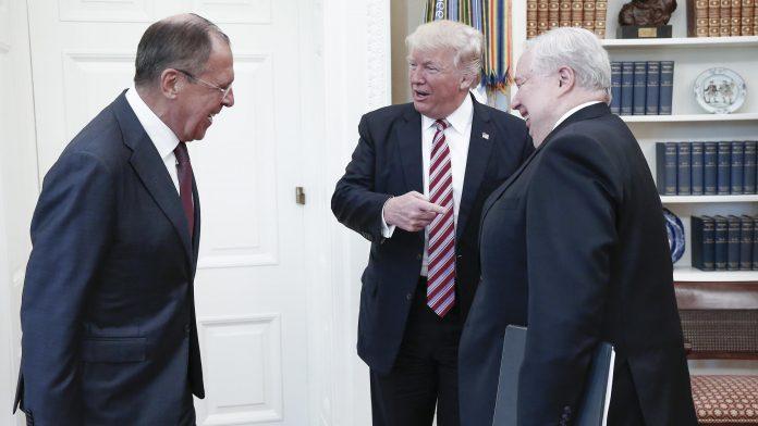 Лавров, Тръмп, Кисляк