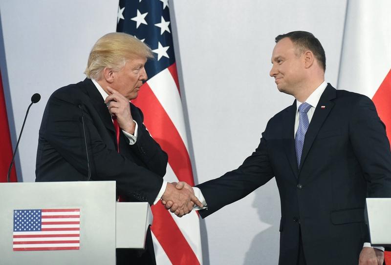 Доналд Тръмп и Анджей Дуда