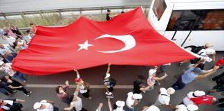 марш в Турция