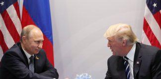 Владимир Путин и Доналд Тръмп, Крим