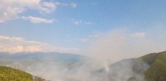 пожар в Кресна