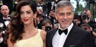 Джордж и Амал Клуни на почивка