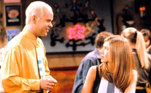 FRIENDS, Jennifer Aniston, 1994-present, episode , The One With Joey's New Girlfriend aired 10/30/97, yr4