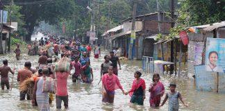 наводнение в Индия
