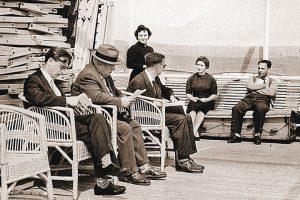 Хрушчов палубата на кораб Балтика