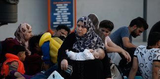 syrian migrants athens