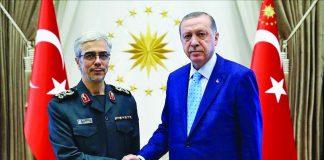 Турция и Иран се договориха да засилят военното сътрудничество. Двете страни проведоха преговори в Анкара като в тях участваха началникът на генералния щаб