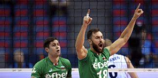 """Началният час на четвъртфиналния мач от европейското първенство по волейбол за въже между България и Сърбия бе променен. Вместо в 18,30 """"лъвовете"""" ще играят"""