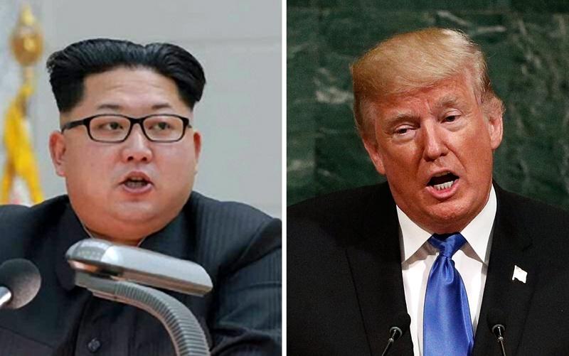 Ким Чен-Ун и Доналд Тръмп