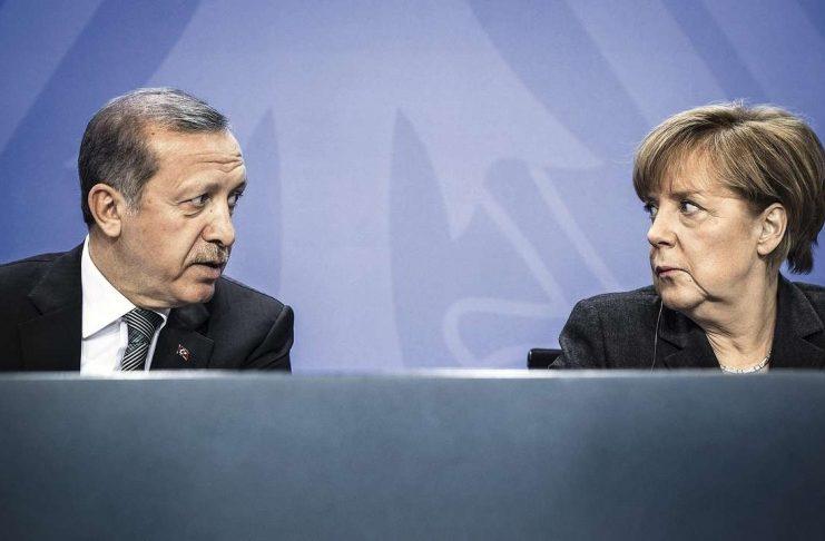 Ердоган, Меркел