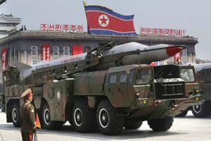 Северна Корея военен парад