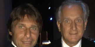 """Собственикът на Левски Спас Русев се похвали, че е вечерял с мениджъра на английския шампион Челси Антонио Конте, който е негов добър приятел. Босът на """"син"""