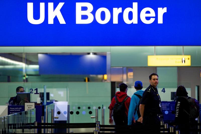 Великобритания, карантина