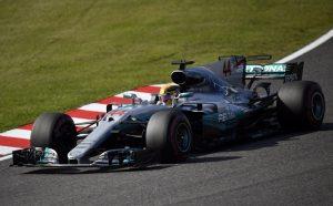 Люис Хамилтън Гран При на Япония