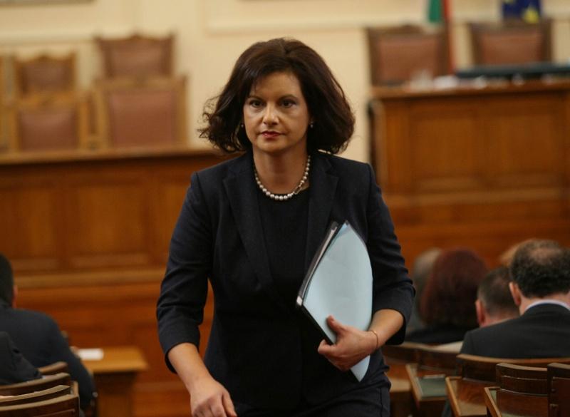 На снимката: Даниела Дариткова