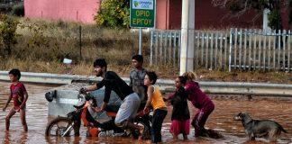 наводнение в Гърция