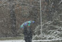 сняг,опасно време