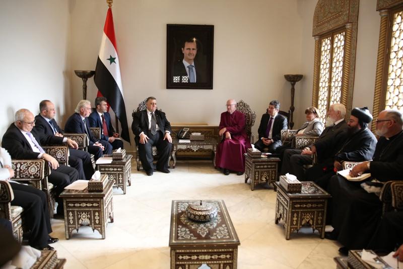 режима в Сирия