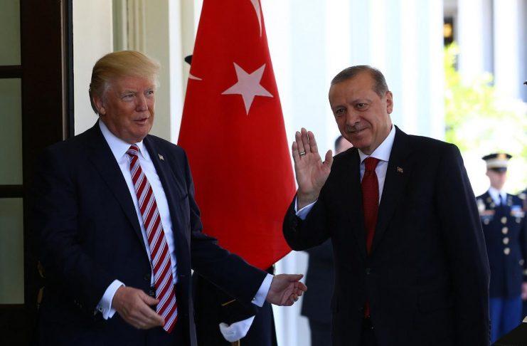 Тръмп, Ердоган