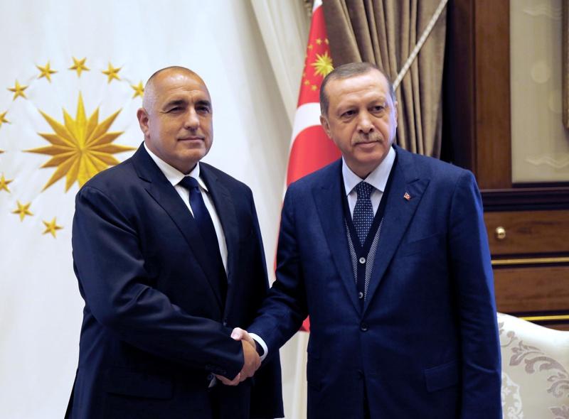 Борисов, Ердоган