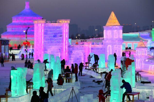 ледeни скулптури