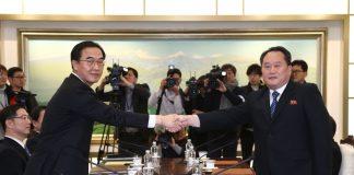преговори между Южна и Северна Корея
