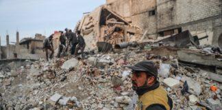 въздушни удари в Сирия