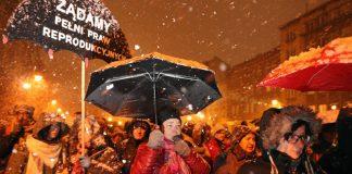 Полша, протести, аборти