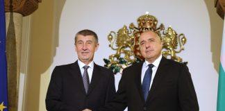 Бойко Борисов и Андрей Бабиш