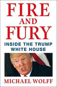 Огън и ярост: В Белия дом на Тръмп, книга, Доналд Тръмп
