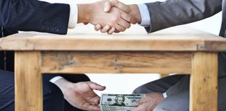 корупция, сивата икономика