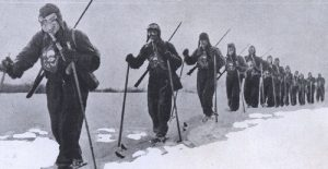 война на ски