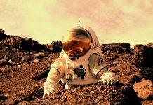 астронавт, Марс