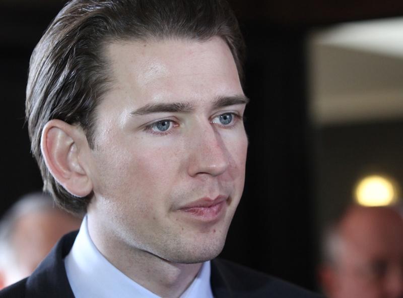 Австрийският канцлер Себастиян Курц