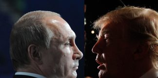 Владимир Путин и Доналд Тръмп, притеснени