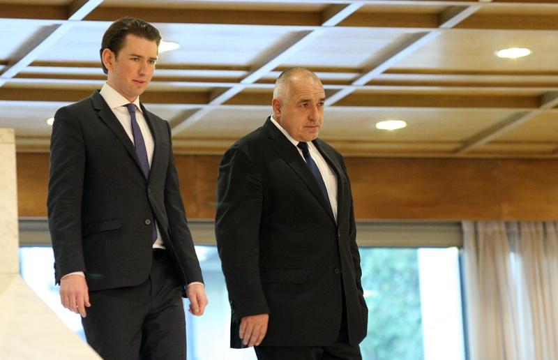 Себастиан Курц и Бойко Борисов
